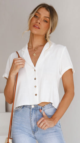 Marcella Top - White