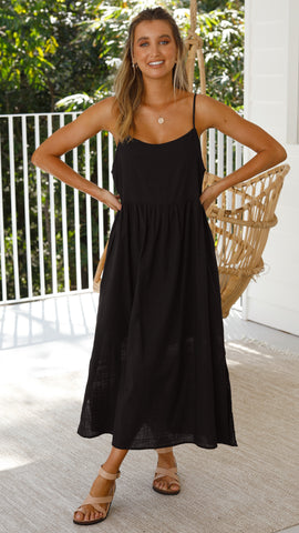 Whitney Dress - Black