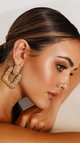 Royal Earrings - Gold