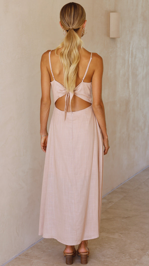 Marlena Dress - Blush