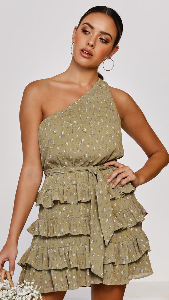 Alyssum Dress - Olive
