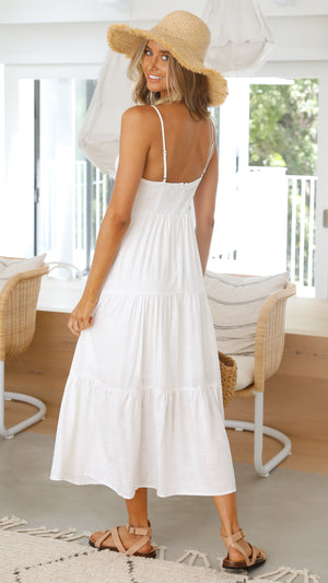 Airleigh Dress - White