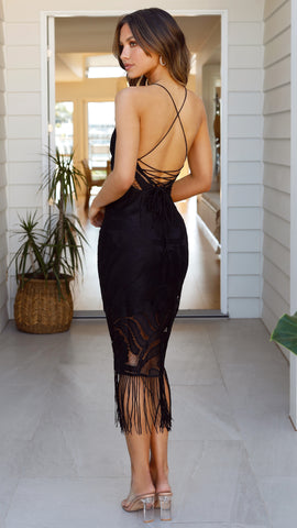Khaleesi Dress - Black