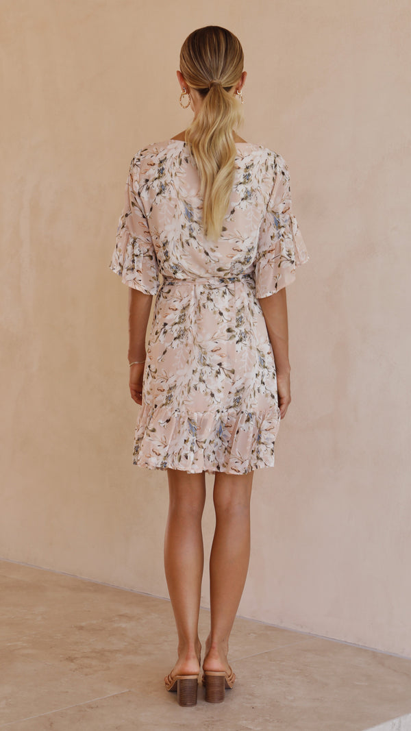 Pure Heaven Dress - Blush