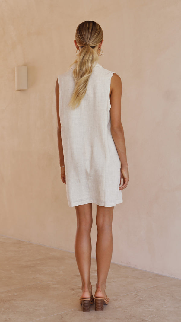 Ellie Dress- Beige