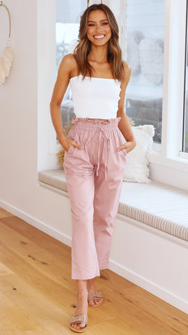 Indianna Pants - Dusty Rose