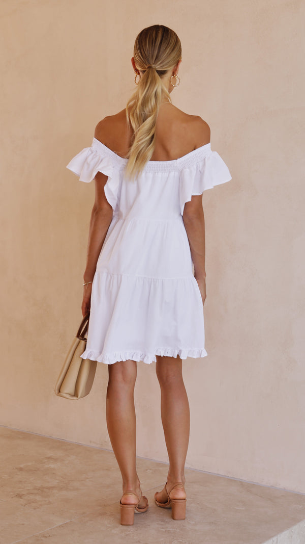 Fayth Dress - White