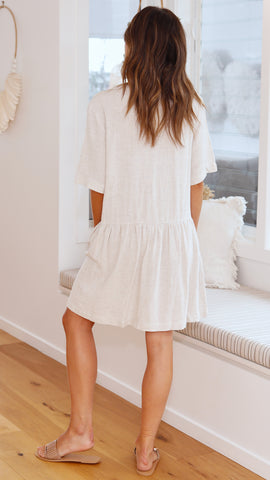 Bailey Dress - Natural