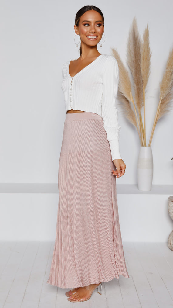 A Walk to Remember Skirt - Blush