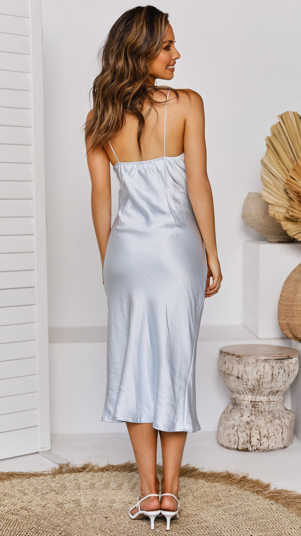Altona Dress - Light Blue