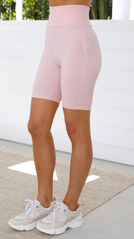 Thicc Bike Shorts - Pink