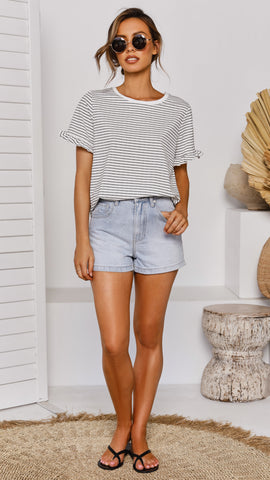 Ivy Vintage Shorts - Denim