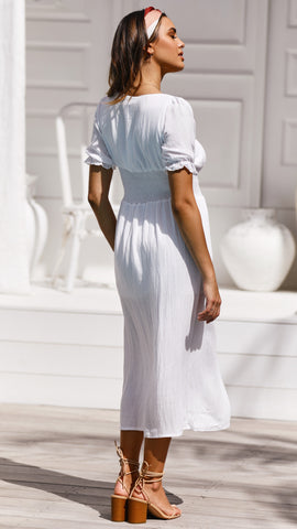 Kenley Dress - White
