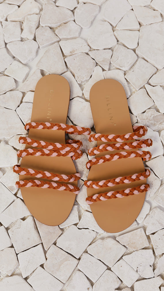 Adina Slide - Burnt Ochre/Dusty