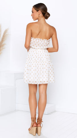 Kensie Dress - White