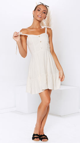 Intentions Dress - Natural
