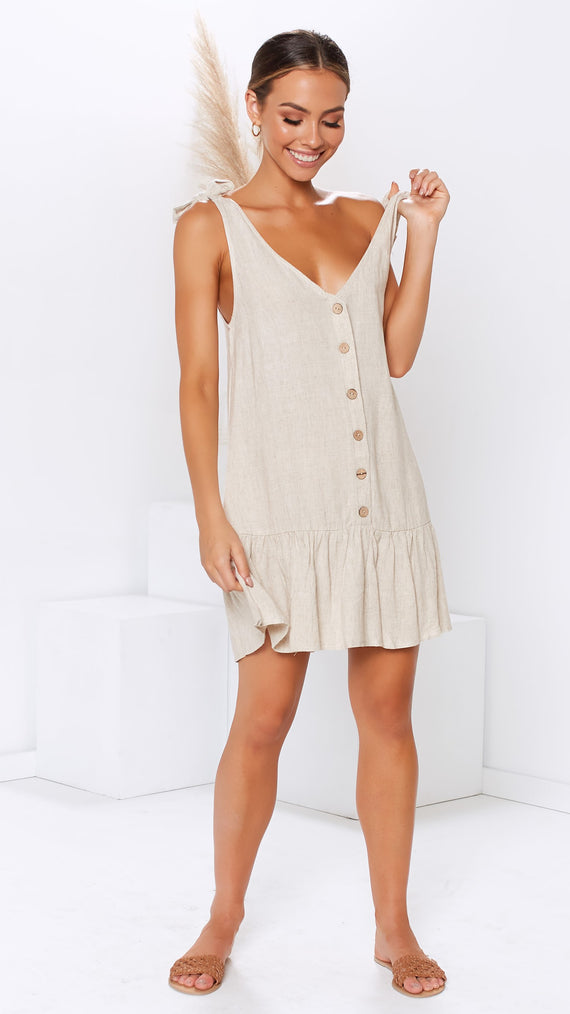 Sepia Dress - Natural