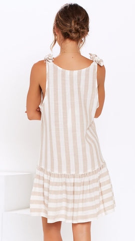 Jocelyn Linen Dress - Sand