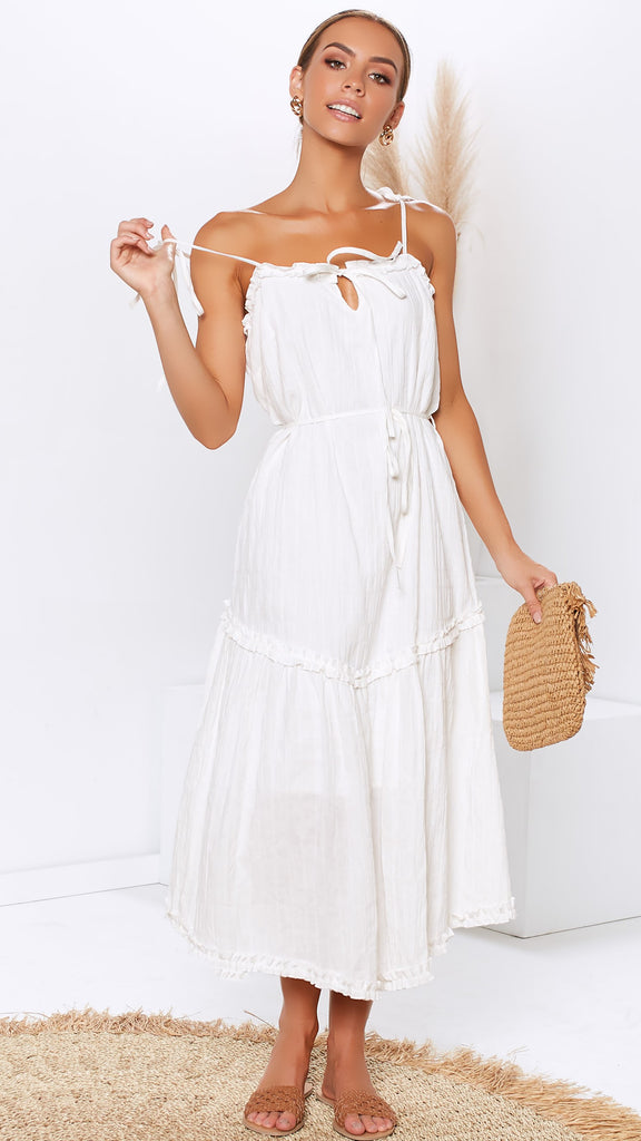 Lilly Dress - White