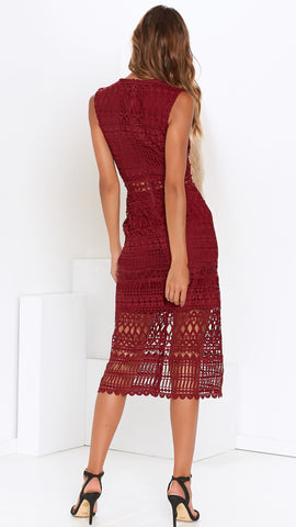 Scarlette Dress - Red