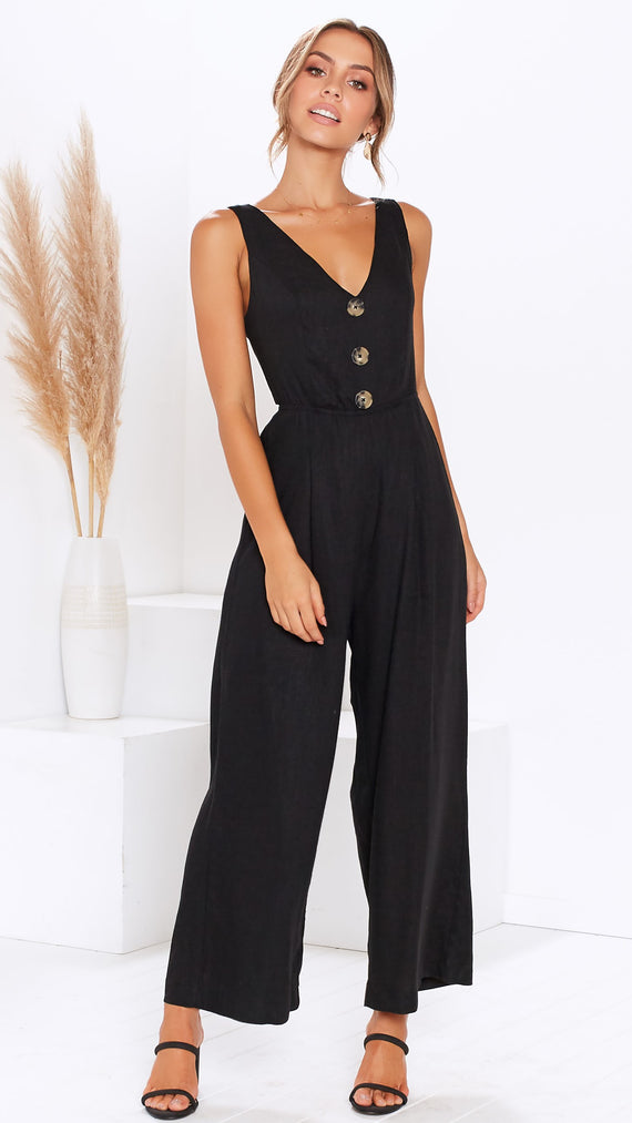 Maya Jumpsuit - Black