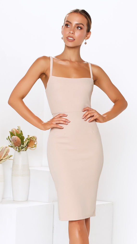 Kimi Dress - Nude