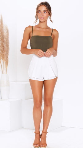 Polly Shorts - White