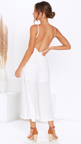 Jessica Jumpsuit - White