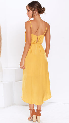 Sweet Dreams Dress - Mustard