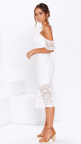 Babylon Dress - White