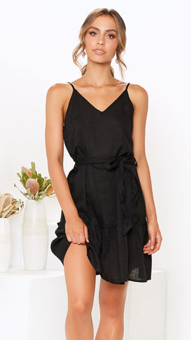 Teesha Dress - Black