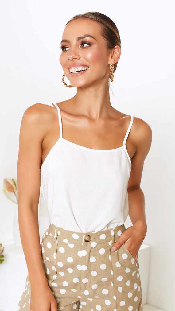 Andrea Top - White