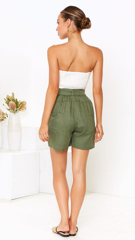 Safari Shorts - Khaki