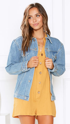 Penny Lane Jacket - Vintage Denim