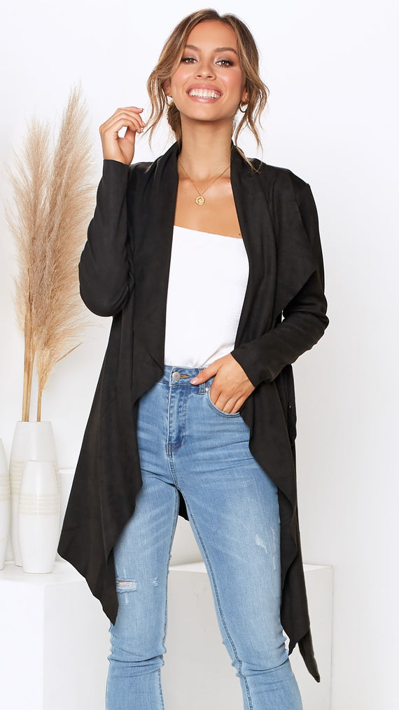 Date Night Jacket - Black