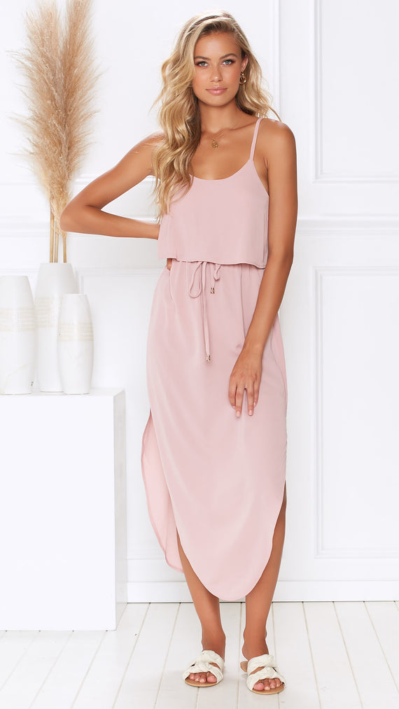 Memphis Dress - Blush