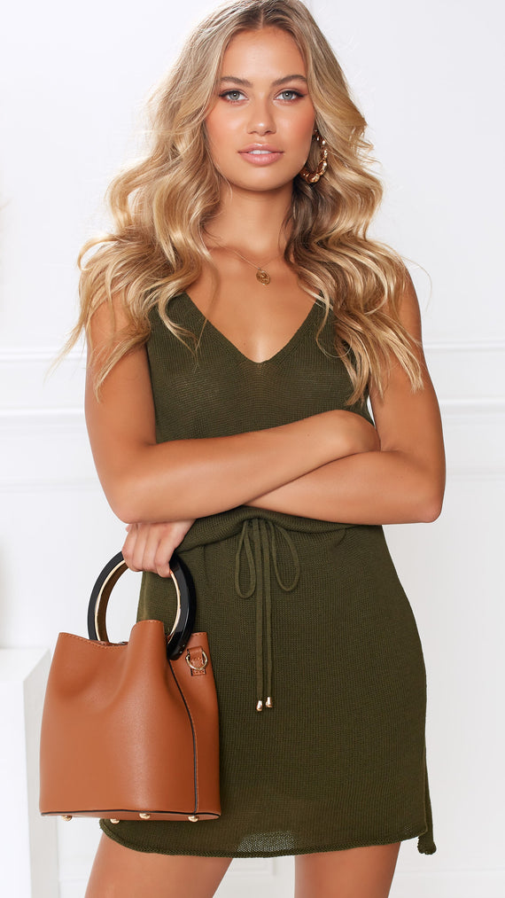 Elle Bucket Bag - Tan