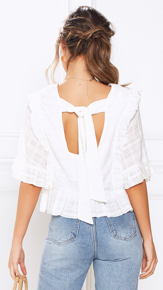 Pippa Top - White