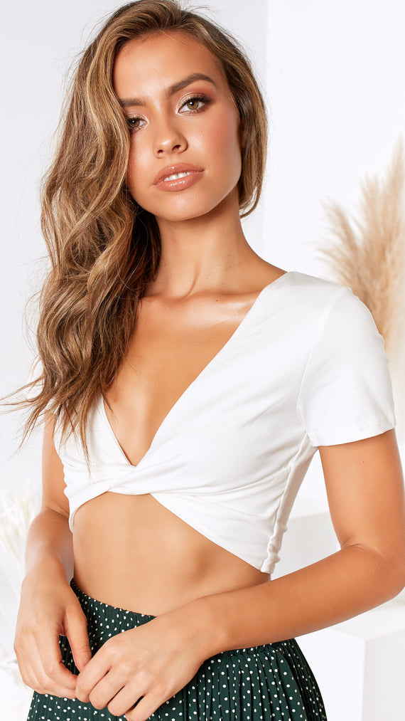 Zinnea Top - White