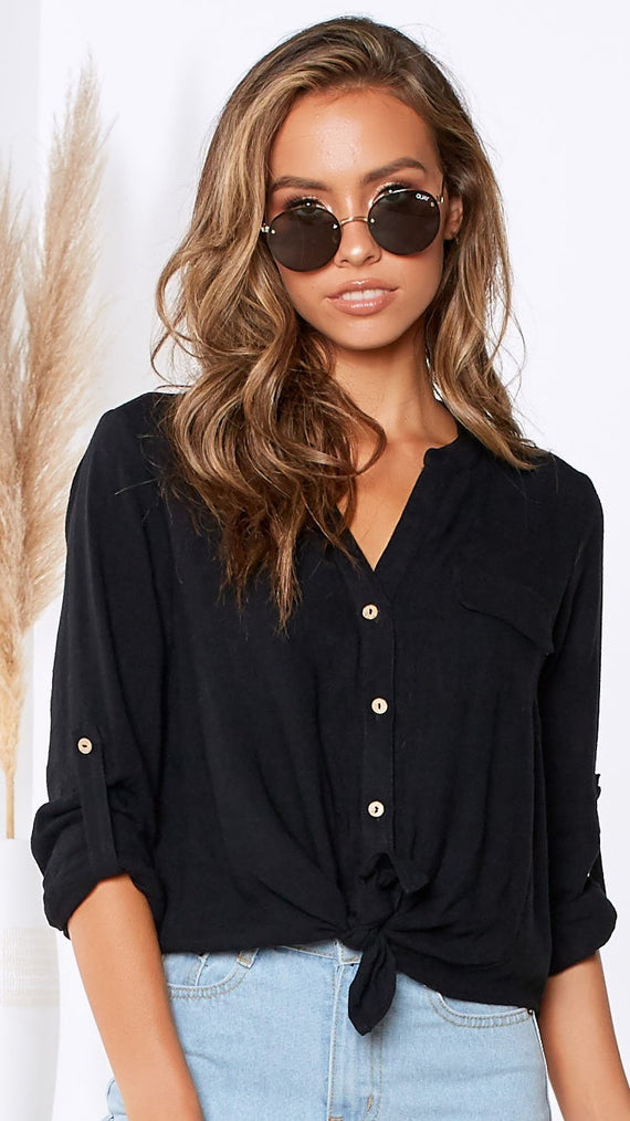 Kendra Shirt - Black