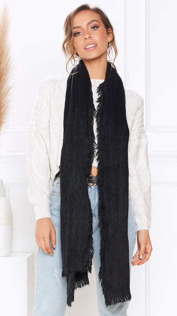 Day Dream Scarf - Black