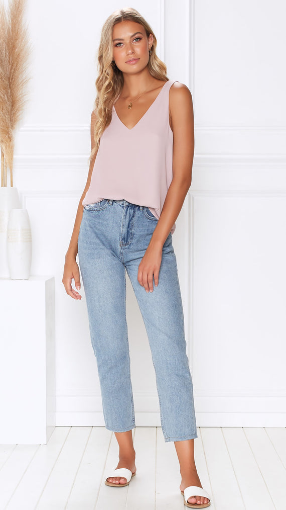 Zoe Top - Dusty Lilac