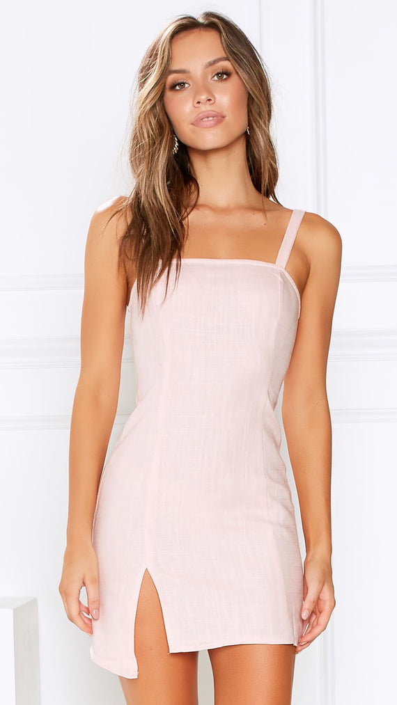 Alyse Dress - Blush