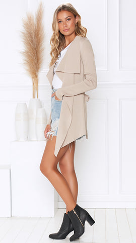 The Chase Jacket - Beige