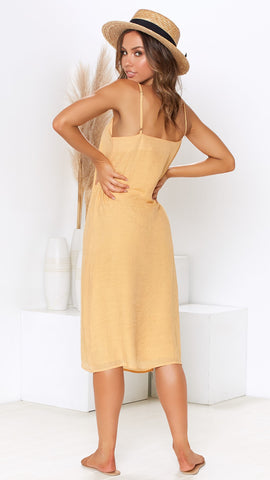 Sydney Dress - Saffron