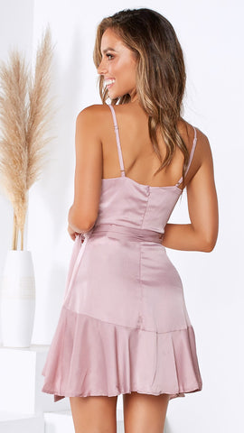 Pinch Me Dress - Blush