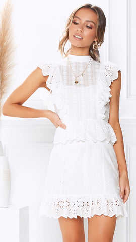 Living Grace Dress - White