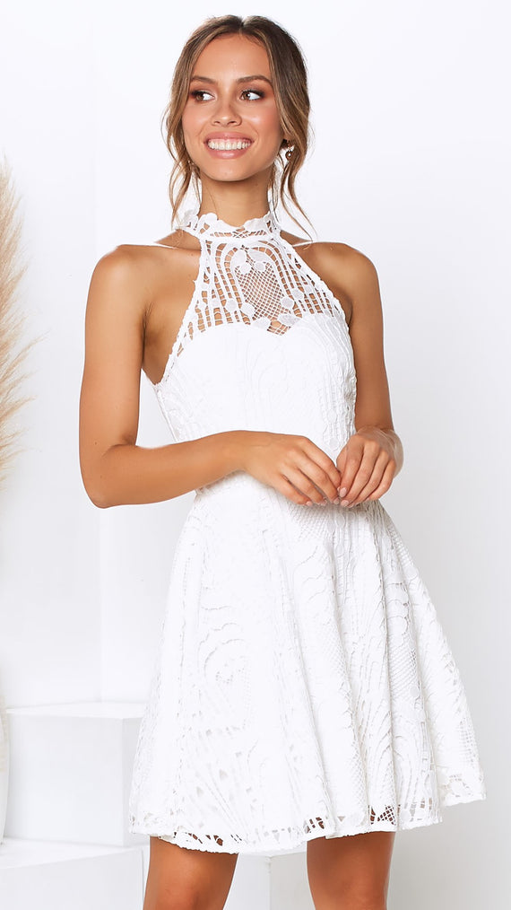 Tanielle Dress - White