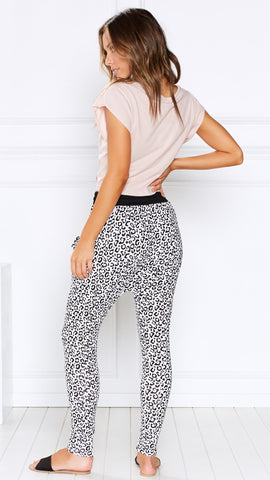 Croatia Pants - Leopard