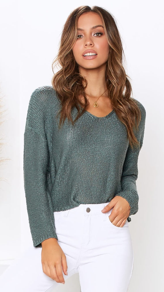 Tulum Knit - Teal